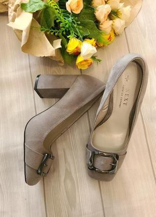 Туфли женские  широкий каблук next