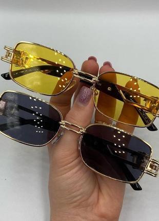 Очки солнцезащитные квадрат