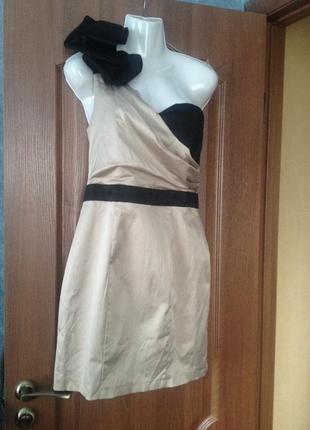 Шикарное брендовое коктейльное платье для любого торжества miss selfridge