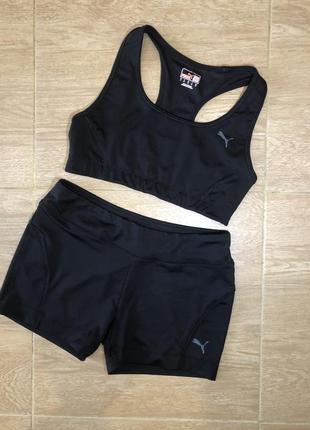 Puma костюм  для фитнеса топ шорты