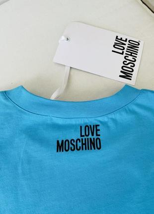 Крутая футболка love moschino
