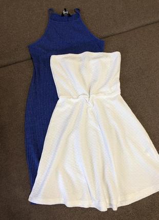 Фактурный сарафан короткое платье