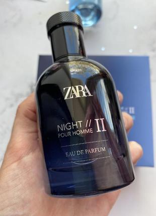Zara мужские духи парфуми night pour homme