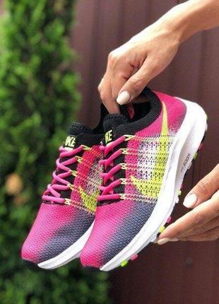 Женские кроссовки 🌿 zoom текстиль сетка беговые спорт кросівки дышащие на лето