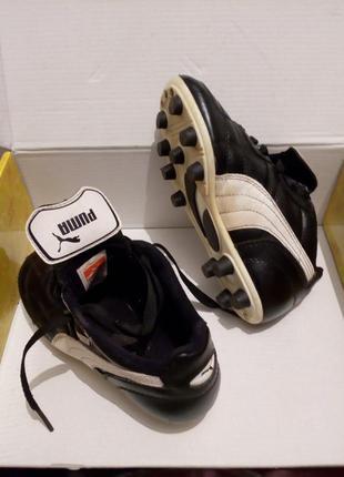 Puma детские кроссовки бутсы футзалки размер 31