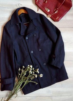 -60%, розпродаж + подарунки! стильне  шерстяне пальто, оверсайз, бойфренд, m-l