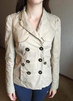 Милый пиджак-пальто на весну-осень