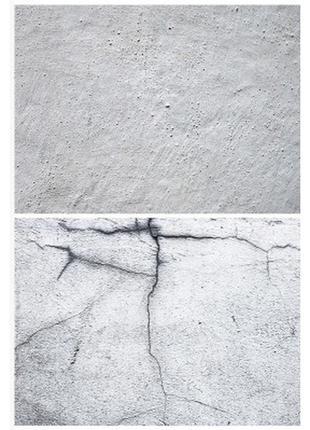Фотофон однотонный (двухсторонний) фон для съемки фотозона фото песочный серый