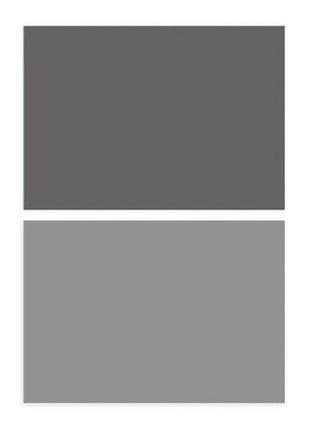 Фотофон однотонный (двухсторонний) фон для съемки фотозона фото серый