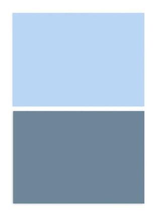 Фотофон однотонный (двухсторонний) фон для съемки фотозона фото голубой синий
