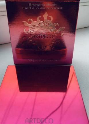 Artdeco бронзирующие румяна для лица bronzing blush3 фото