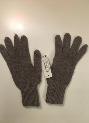 Новые итальянские перчатки. шерсть