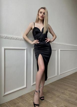 Шикарное чёрное платье 🖤🥰супер новинка 🍓