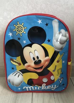 Дошкольный детский  рюкзак микки маус 3-6 лет