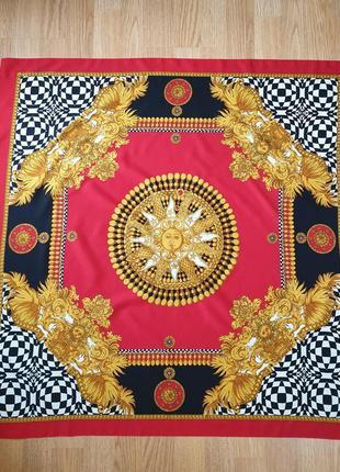 Платок с роскошным принтом в стиле версаче