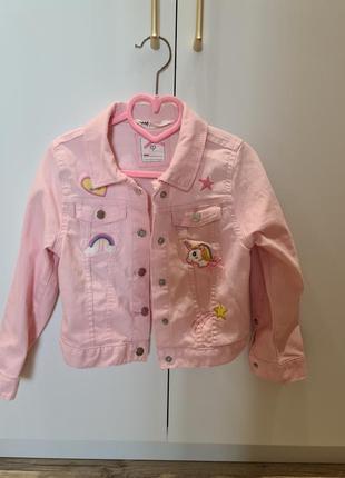 Джинсовая курточка 116-122