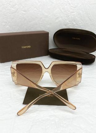 Брендовые солнцезащитные очки квадратные all face
