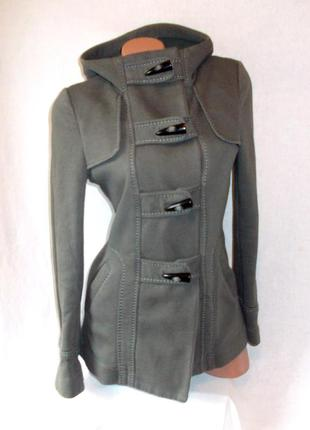 Total sale распродажа!!! теплая куртка на осень весну милитари хаки зеленая с капюшоном