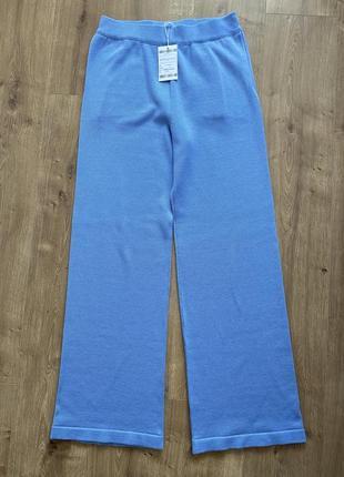 Хлопковые вязанные штаны (брюки) весна-лето новые