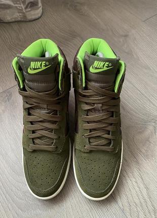 Сникерсы кроссовки ботинки новые nike  38(24 см)