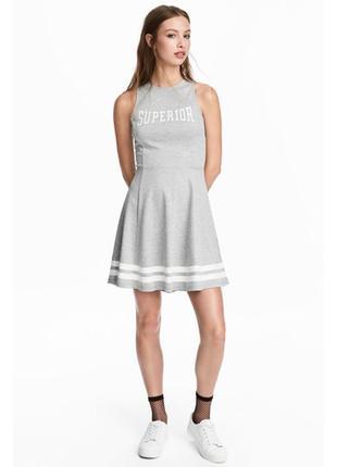 Платье без рукавов h&m