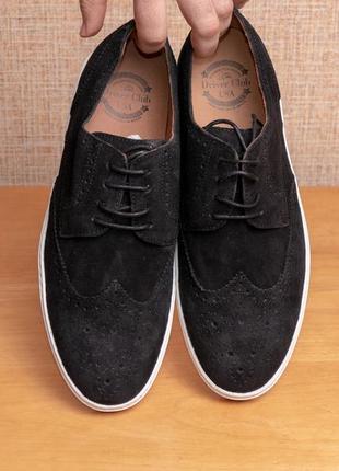 Мужские замшевые туфли кеды driver club usa princeton wingtip us9