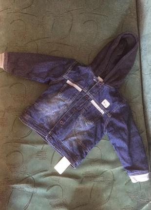 Утеплённая куртка mothercare