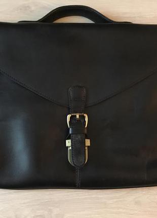 Сумка портфель кожа