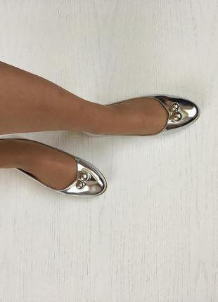 Новые туфли металик sergio todzi