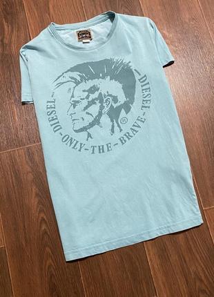 Женская крутая оригинальная футболка diesel размер s