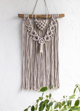 Макраме панно на стену / декор для дома/ настенный декор / бохо