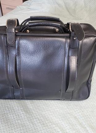 Винтажная дорожная сумка, новая, как ручная кладь