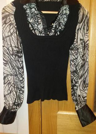 Блуза-жилетка