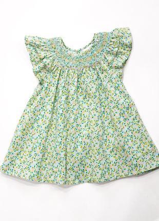Красивое платье туника next, 1,5-2 г. next. новое.