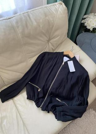 Куртка ветровка бомбер mango m