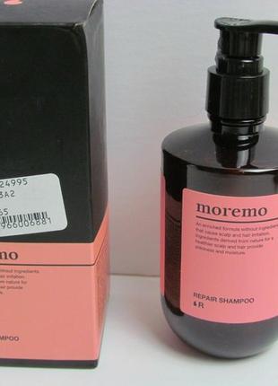 Очищающий шампунь 300мл moremo scalp shampoo clear and cool корея