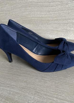 Синие туфли от dorothy perkins