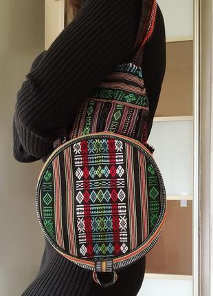 Этнический складной рюкзак