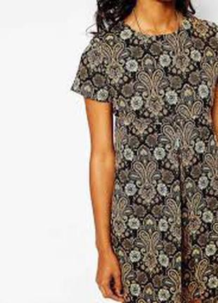 Платье жаккард трапеция  тренд