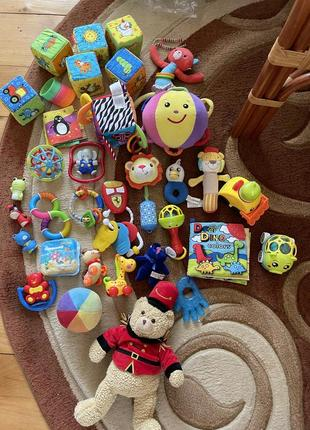 Іграшки, игрушки, fisher price, munchkin, chicco, canpol babies, tiny love, infantino