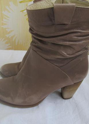 Кожаные сапоги,ботинки p.i.u.r.e. осенние.38.