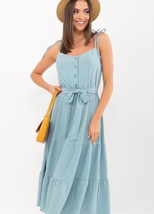 Женский сарафан летний, платье миди, в расцветках