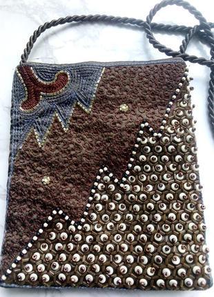 Расшитая сумочка, индия