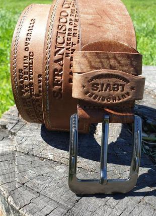 💥летняя новинка💥 ремень в стиле levis, ширина 4.5, длина 120 в джинсы