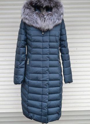 Акция! зима 2018, теплое пальто lusskiri на холлофайбере с мехом m, l, xl, xxl, 3xl, 4xl