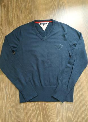 Подростковый хлопковый джемпер/свитер от tommy hilfiger
