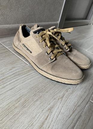 Мужские замшевые ботинки туфли