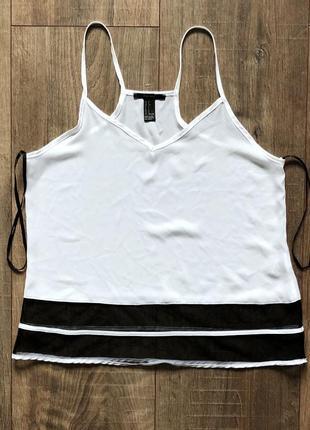 Майка шифоновая блузка блуза в бельевом стиле нарядная красивая сеточка