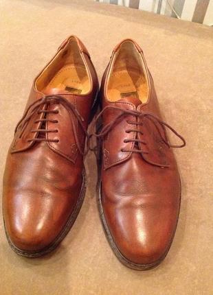 Классические кожаные туфли бренда lloyd, р. 40,5 (41)