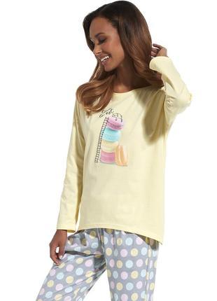 Пижама 625 time to rest cornette нежная пижама из хлопка домашняя одежда штаны